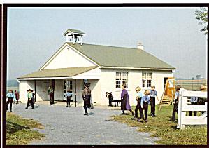 Amish Children at Schoolhouse cs7044 (Image1)