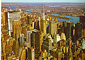 Skyline Looking Northeast from Empire State Building New York City cs7048 (Image1)