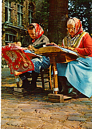 Women in Native Costume in Belgium (Image1)
