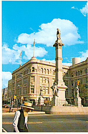 Soldiers And Sailors Monument Penn Square Lancaster Pa Cs7081