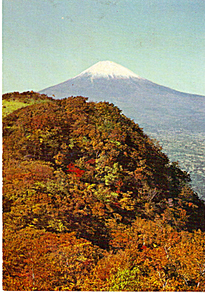 Snow Capped Mt Fuji, Japan (Image1)