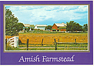 Amish Farm after the Grain Harvest cs7139 (Image1)