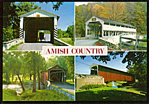 Views of Four Covered Bridges in Pennsylvania (Image1)