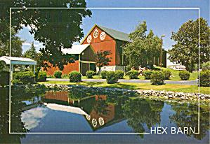 Hex Barn Postcard cs7149 (Image1)