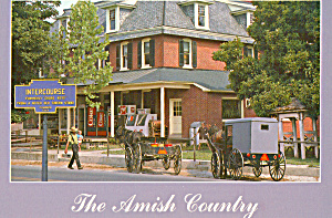 Amish Buggys In Intercourse, Pennsylvania Cs7157