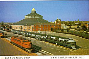 B and O Railroad Museum Baltimore Maryland cs7165 (Image1)