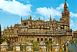 The Cathedral Seville Spain Cs7170
