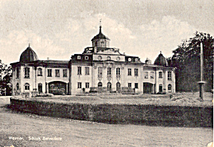 Schloss Belvedere Weimar Germany Postcard cs7185 (Image1)
