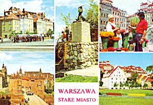 Five Views of Warsaw Poland cs7251 (Image1)