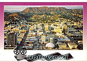 Aerial View Of Hollywood California Cs7278