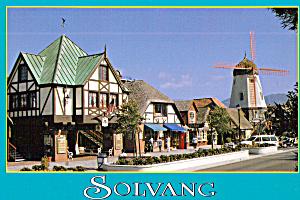 Street Scene Solvang California cs7279 (Image1)