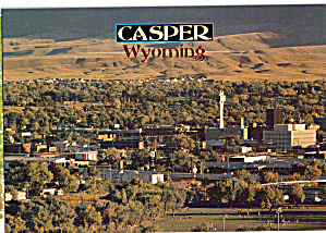 Aerial View, Casper Wyoming (Image1)