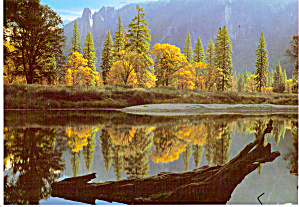 Sentinel Rock and Merced River Yosemite National Park CA cs7297 (Image1)