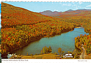 Autumn View, Adirondacks Mountain Lake (Image1)
