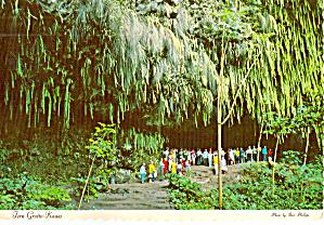 Fern Grotto Wailua River Kauai HI cs7301 (Image1)