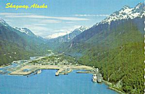 Aerial  View of Skagway Alaska cs7308 (Image1)