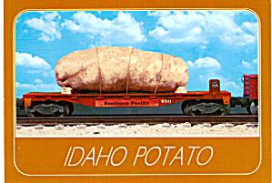 Idaho Russet Potato Going to Market on Flatcar cs7329 (Image1)