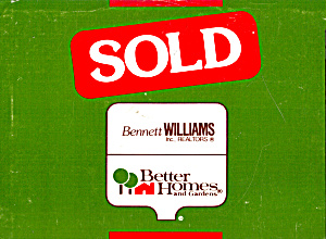 Real Estate Sold Notice Advertising Postcard cs7333 (Image1)