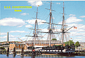USS Constitution and Bunker Hill Monument Boston cs7355 (Image1)