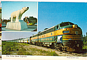 Polar Bear Express Cochrane to Moosonee Ontario Locomotive cs7359 (Image1)