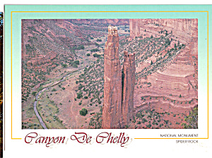 Spider Rock, Canyon de Chelly National Monument (Image1)