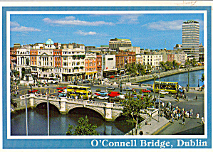 O Connell Bridge and River Liffey, Dublin, Ireland (Image1)
