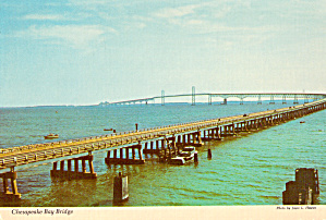Chesapeake Bay Bridge, Connecting Shores of Maryland (Image1)