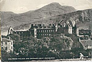 Holyrood Palace and Arhur s Seat Edinburgh Scotland cs7373 (Image1)