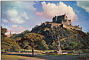 Edinburgh Castle Edinburgh Scotland Postcard cs7374 (Image1)