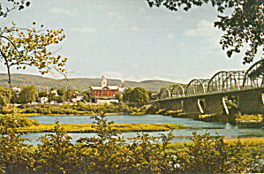 Bridge Over Susquehanna River at Danville, Pennsylvania (Image1)