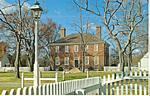 George Wythe House, Williamsburg, Virginia (Image1)