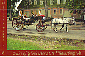 Mulberry Phaeton on Duke of Gloucester St, Williamsburg, Virginia (Image1)