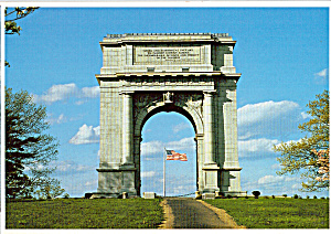 National Memorial Arch Valley Forge National Historical Park Cs7407