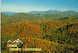 Autumns Color Great Smoky Mountains  National Park TN cs7408 (Image1)