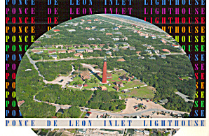 Ponce De Leon Inlet Lighthouse Daytona Beach Peninsula Florida cs7412 (Image1)
