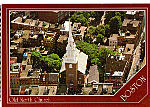 Old North Church Boston Massachusetts AKA Christ Church cs7415 (Image1)