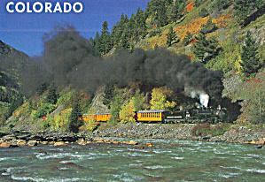 Steam Train Durango and  Silverton Narrow Gauge Railroad cs7420 (Image1)