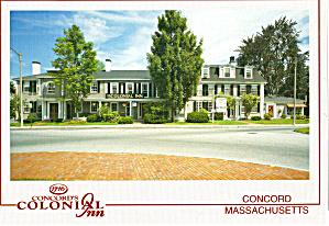 Concord Massachusetts Colonial Inn Postcard cs7439 (Image1)