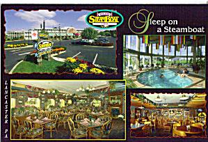 Fulton Steamboat Inn Lancaster PA Postcard cs7449 (Image1)