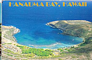 Aerial View Hanauma Bay Oahu Hawaii cs7467 (Image1)