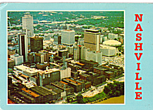 Aerial Expanse of Downtown Nashville, Tennesse (Image1)