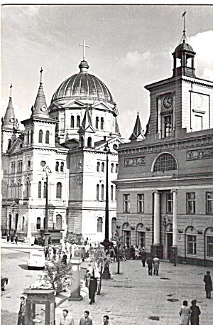 Street Scene in Lodz Poland cs7482 (Image1)