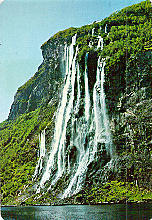 The Seven Sisters, Waterfalls, Geirangerfjord, Norway (Image1)