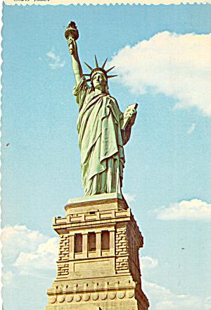 Statue of Liberty on Pedestal New York Harbor cs7510 (Image1)