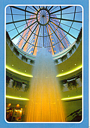 Fountain in New Shopping Mall, St Paul, Minnesota (Image1)