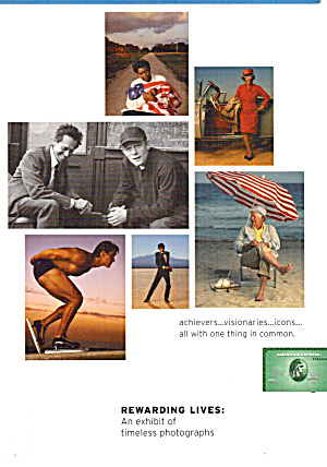 Timeless Photographs American Express Auction Advertising cs7524 (Image1)