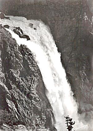 Voringfossen Waterfall, Mabodalen,Eidfjord Area Norway (Image1)