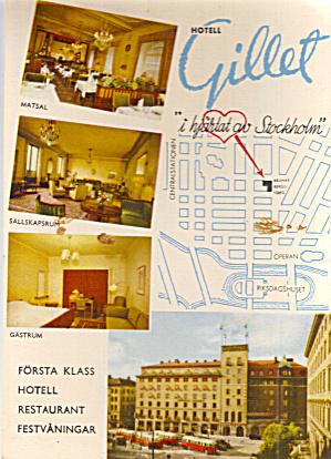 Hotel Gillet Stockholm  Sweden cs7549 (Image1)