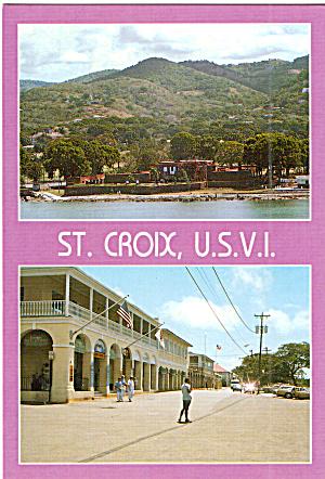 Two Views of the U S Virgin Islands cs7554 (Image1)