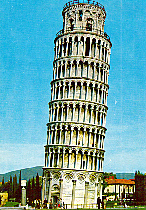 The Leaning Tower of Pisa Italy cs7576 (Image1)
